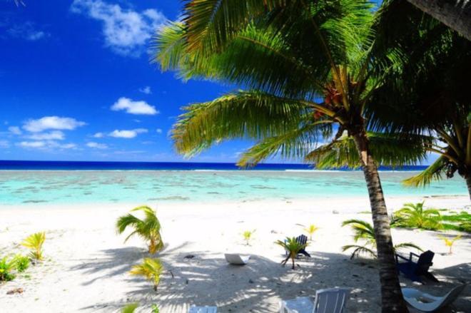 The Reef Motel - Rarotonga - Beach