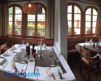 Albergo Lardi - Poschiavo - Restaurant