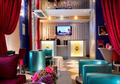 Hotel Monceau Wagram - Paris - Lobby
