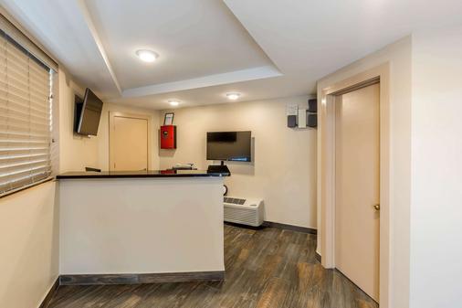 Rodeway Inn Chicago-Evanston - Chicago - Rezeption