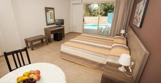 Crystallo Apartments - Pafos - Makuuhuone