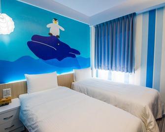 清翼居旅店府中一館 - 板橋區 - 臥室