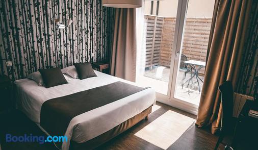 Hôtel De La Baie De Wissant - Escalles - Bedroom