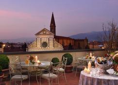 Hotel Santa Maria Novella - Florenz - Balkon