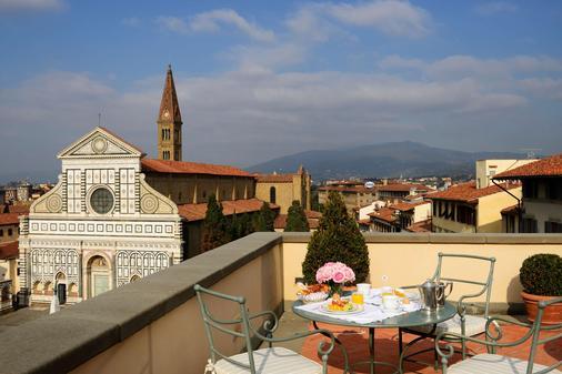 Hotel Santa Maria Novella - Firenze - Parveke