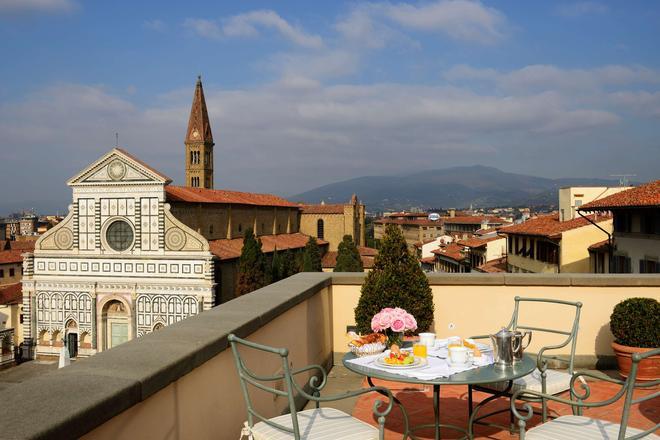 聖瑪利亞諾瓦拉酒店 - 佛羅倫斯 - 佛羅倫斯 - 陽台