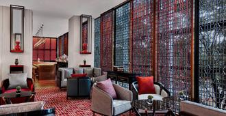 北京金融街麗思卡爾頓酒店 - 北京 - 休閒室