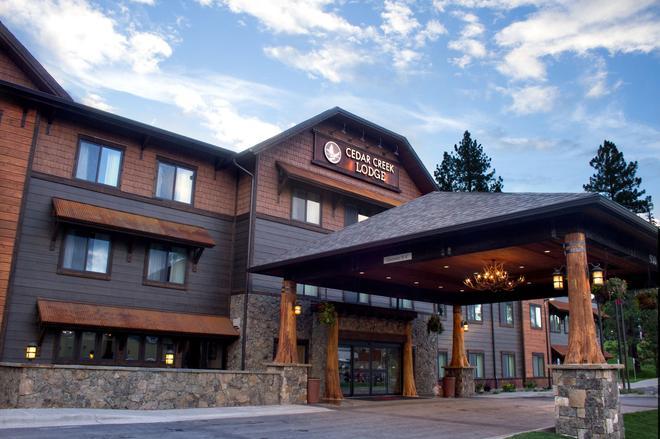 Cedar Creek Lodge And Conference Center - Columbia Falls - Edificio