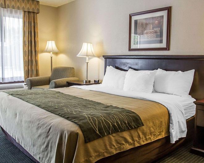 Quality Inn Riverside Near Ucr - Riverside - Bedroom