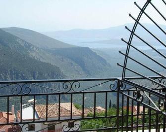 Orfeas Hotel - Delphi - Balkón