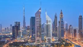 卓美亞阿聯酋中心酒店 - 杜拜 - 室外景