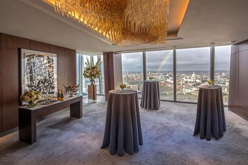 Shangri La Hotel At The Shard London - London - Banquet hall