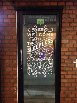 The Sleepless Boutique Hostel - Bangkok - Außenansicht
