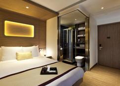 Hotel Pennington by Rhombus - Hongkong - Schlafzimmer