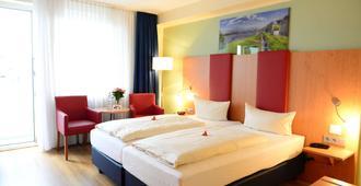 Hotel National Düsseldorf - דיסלדורף - חדר שינה