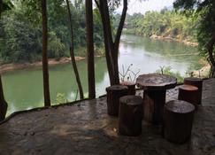Saiyok River House - Ban Lum Sum - פטיו