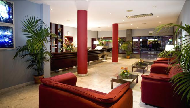 優德拉公園公寓酒店 - 阿羅納 - 美洲海灘 - 大廳