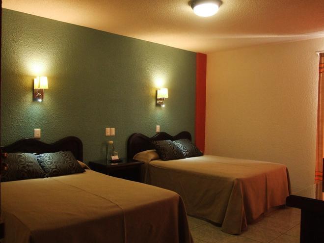 Hotel Aurora - Οαχάκα ντε Χουάρες - Κρεβατοκάμαρα