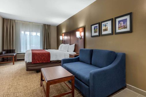 Comfort Inn and Suites - Montgomery - Bedroom
