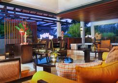 皇家卡蜜拉在烏布猴林別墅和溫泉酒店 - 烏布 - 烏布 - 休閒室