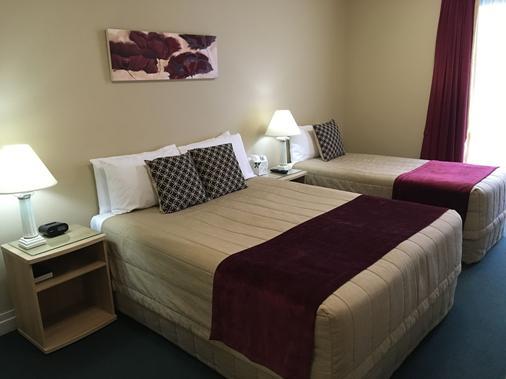 Motel On York - Dunedin - Bedroom