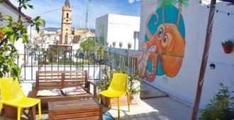 Casa Al Sur Terraza Hostel - Málaga - Balcony