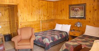 Holiday Motel - West Yellowstone - Bedroom