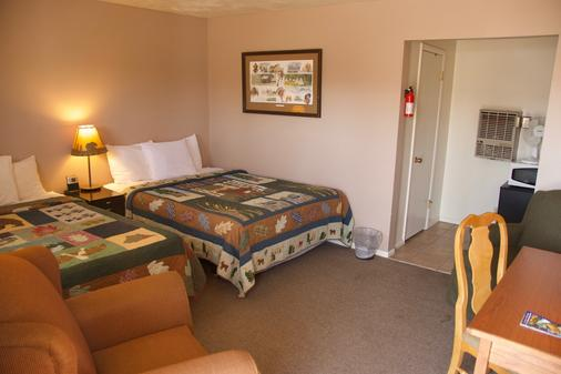 Holiday Motel - West Yellowstone - Schlafzimmer