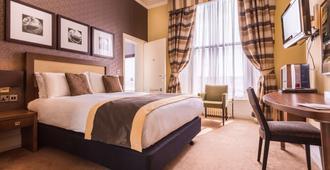 رويال ستيشن هوتل - نيوكاسل - غرفة نوم