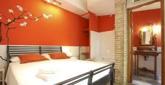 Las Acacias Hostal Restaurante - מלאגה - חדר שינה