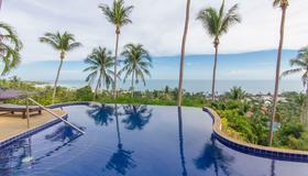 Seaview Paradise Mountain Holiday Villas - Koh Samui - Pool