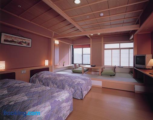 Yunoyado Hakusan Shobutei - Kaga - Phòng ngủ