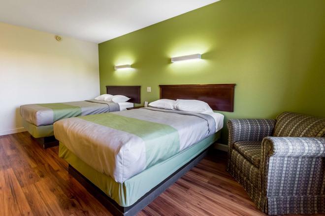 Motel 6 Springfield Oh - Springfield - Bedroom