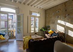 Verdura Suites Archsense Apartments - Pontevedra - Ruang tamu