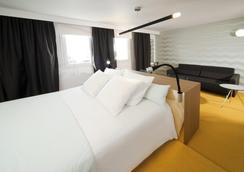 Kyriad Saint-Etienne Centre - Saint-Étienne - Bedroom