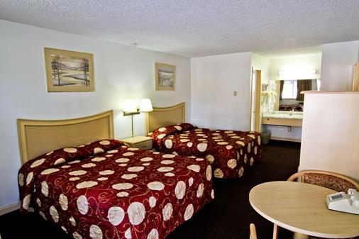 National 9 Inn - South Lake Tahoe - Phòng ngủ