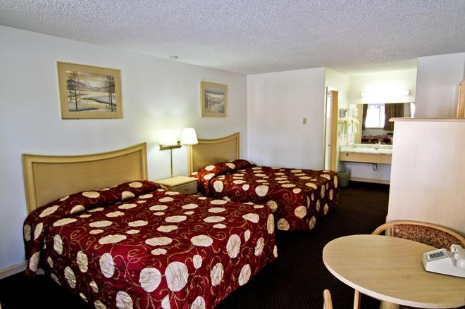 National 9 Inn - South Lake Tahoe - Schlafzimmer