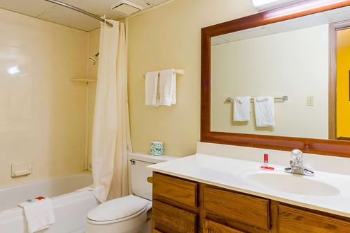 Econo Lodge Inn & Suites - Bentonville - Bathroom