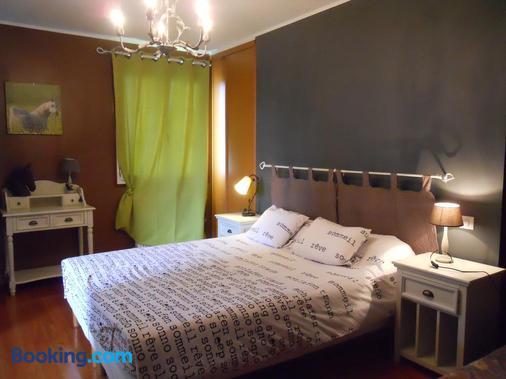 La Ferme de Bout de la Ville - Criquebeuf-en-Caux - Bedroom