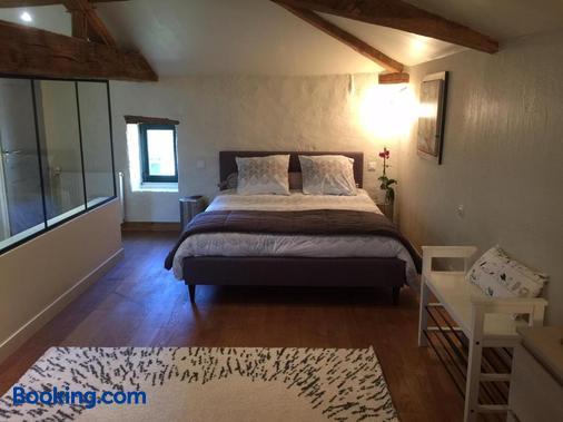 Le Vieux Logis de la Galocherie - L'Oie - Bedroom