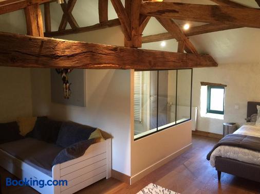 Le Vieux Logis de la Galocherie - L'Oie - Living room