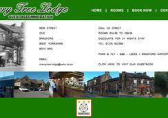 Cherrytree Lodge - Bradford