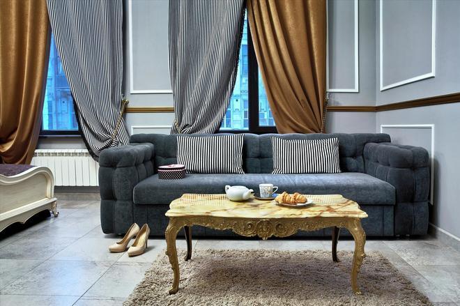 Theatre Boutique Apart-Hotel - Kyiv - Phòng khách