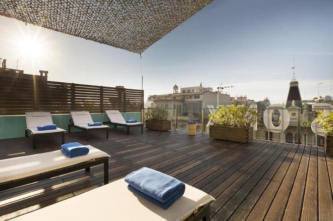 歐尼士拉姆布拉酒店 - 巴塞隆拿 - 巴塞隆納 - 陽台