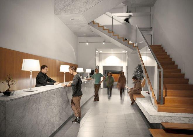 歐尼士拉姆布拉酒店 - 巴塞隆拿 - 巴塞隆納 - 櫃檯