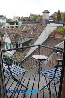 水獺酒店 - 蘇黎世 - 蘇黎世 - 陽台