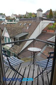 Oldtown Hostel Otter - Zürich - Balkon