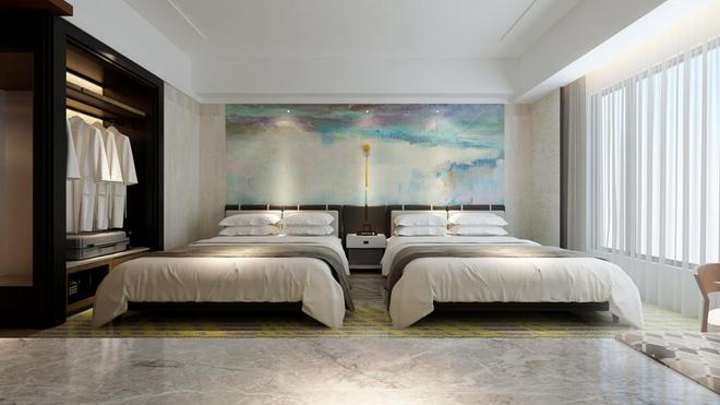 Miramar Garden Taipei - Taipei - Yatak Odası