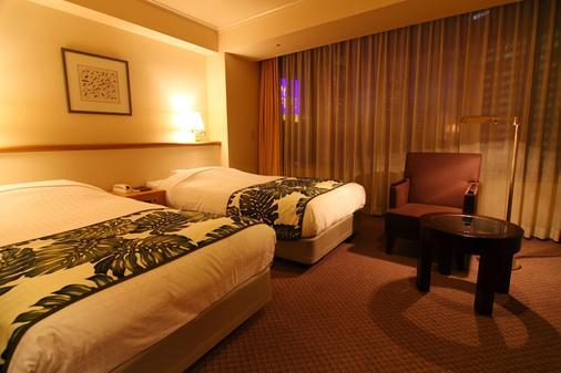 櫻木町溫泉度假酒店 - 橫濱 - 臥室