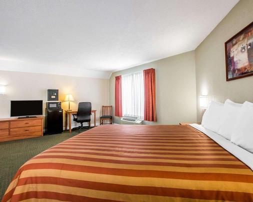 Rodeway Inn - 聖克里門提 - 聖克萊門特 - 臥室